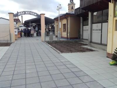 Rynek miejski w Żarach