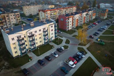 Budynek wielorodzinny przy ulicy Bema w Żaganiu
