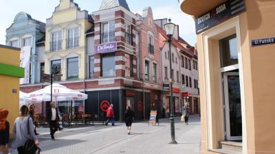 (Polski) Budynek usługowo-mieszkalny przy ulicy Chrobrego w Żarach