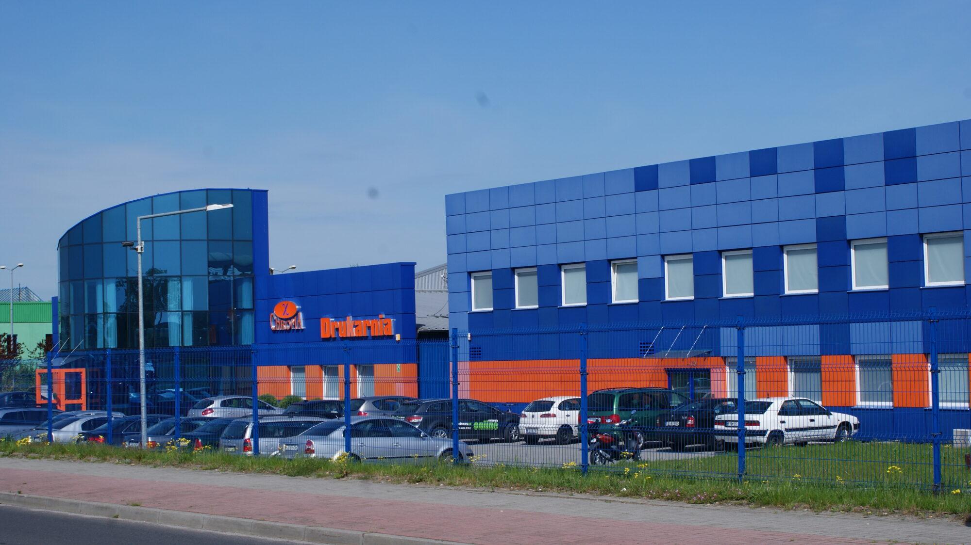 (Polski) Hala produkcyjna dla drukarni Chroma w Żarach