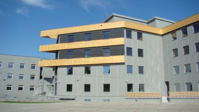 (Polski) Budynek biurowy przy ulicy Skarbowców we Wrocławiu