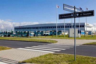 (Polski) Budowa hali dla LG Electronics