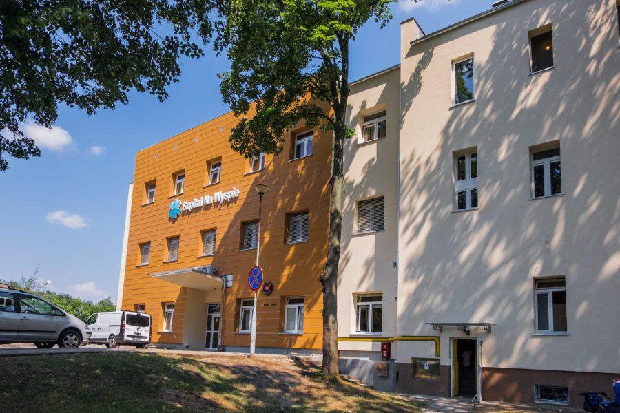 """Rozbudowa Pawilonu nr 2 – """"Szpitala na Wyspie"""" w Żarach"""